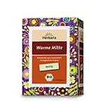 Warme Mitte - Bio Kräutertee (15 Filterbeutel, ehemals Hausfr. Bauch)